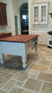 Mahogany wood countertop by CafeCountertops 76253 - Castro - Credit to_Mary Lafevers - Inscape Design Studio - Copy
