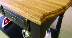 European Oak wood countertop by CafeCountertops 1